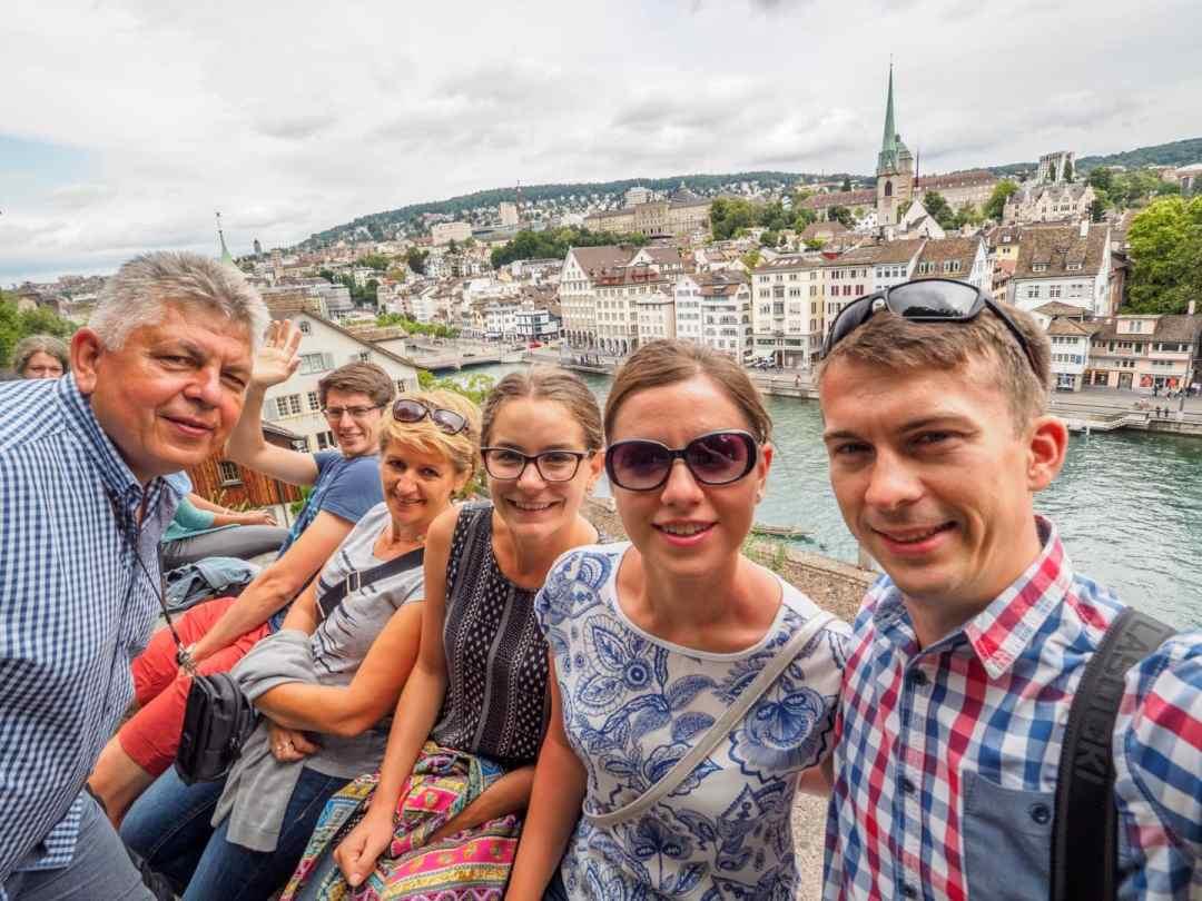 Nasza ekipa w Szwajcarii