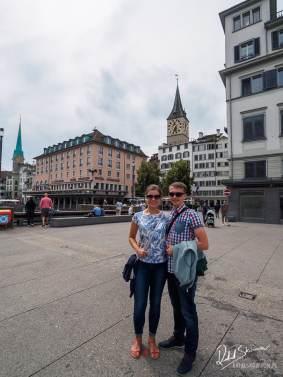 pełny zespół jadziatravel zwiedza Zurych