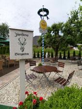 Jägerkrug Herford Biergarten