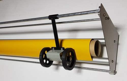 Folienabrollgerät FAG160+ inkl. opt. Meterzähler