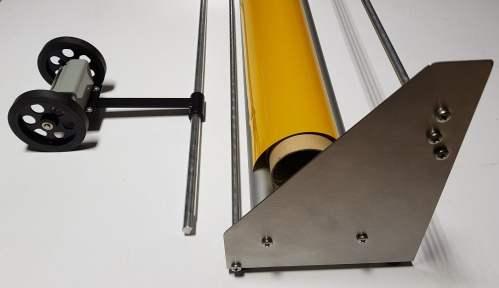 Folienabrollgerät FAG160+ inkl. opt. Folien-Meterzähler