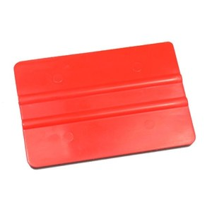 Folienrakel rot ohne Filzkante