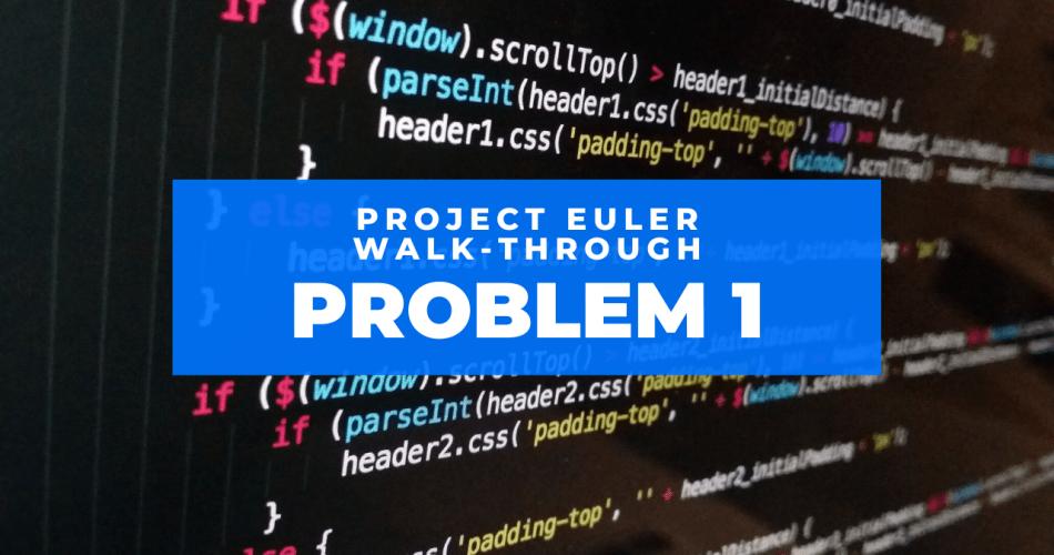 project euler problem 1