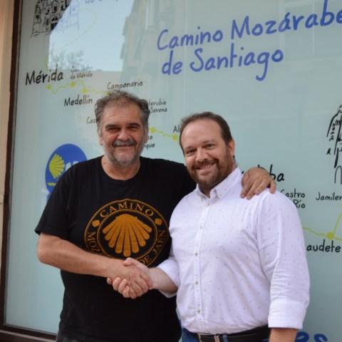PsicoJaén y la Asociación Jacobea de Jaén firman un acuerdo que benefician a nuestros socios