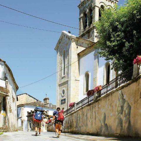 Sarria, el inicio preferido de los peregrinos jiennenses