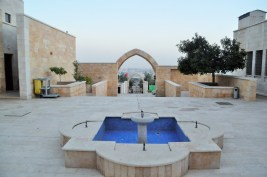The fountain of Al-Kahfi Mosque
