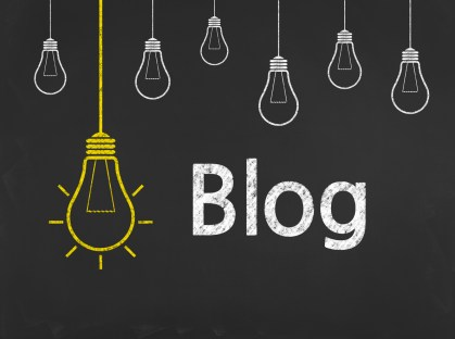 Blog - Business Chalkboard Background