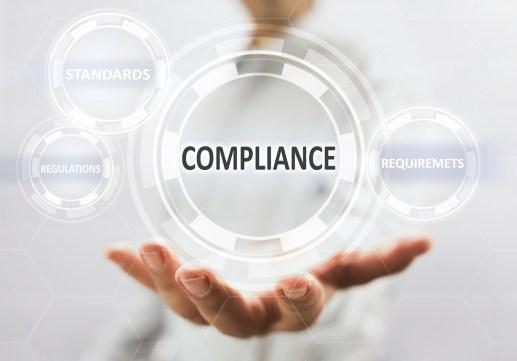 Compliance Concept On Virtual Screen