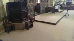 Wool carpet tiles