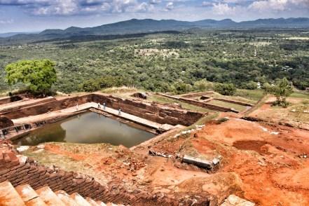 Panorama Blick auf Sigiriyas Rock