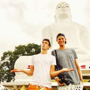 Bahirawakanda Buddha Statue, Kandy