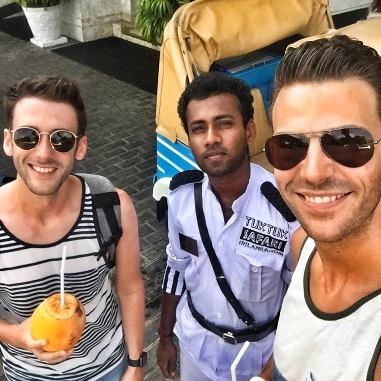 TukTuk Safari Colombo mit Fahrer Caviar