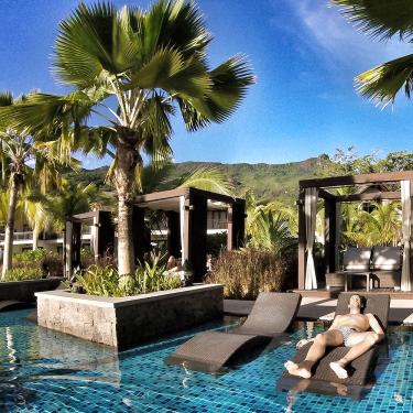 Pool H-Resort Beau Vallon Mahe