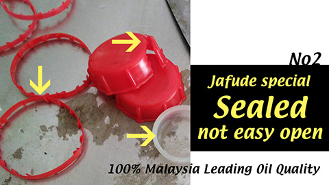 Cooking Oil and Vegetable Oil Supplier in Philippines-jafude mantika palm oil properly sealed.