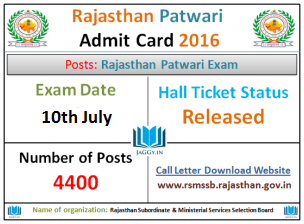 Those applicants who are preparing For RSMSSB Rajasthan Ophthalmic  Assistant Examination must also check RSMSSB Ophthalmic Assistant govt jobs  Hall Ticket ...
