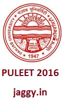 PULEET Application forms 2016