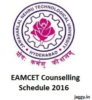 EAMCET Counselling Schedule