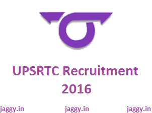 UPSRTC Recruitment 2016