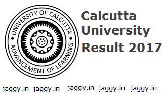 Calcutta University Result 2017