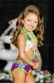 Skönhetstävling för barn
