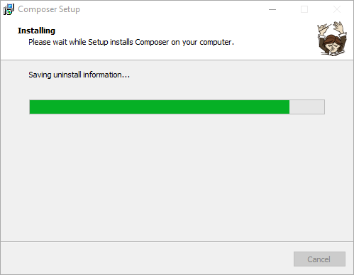 Proses Install Composer di Windows
