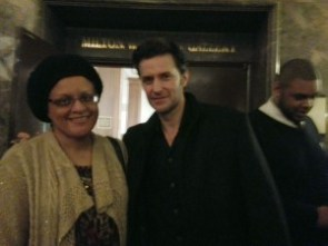 Picture or it didn't happen.  Richard Armitage and me.  92nd ST Y, NYC.