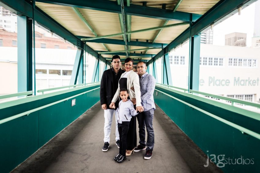 Seattle Destination Family Portraits JAGstudios