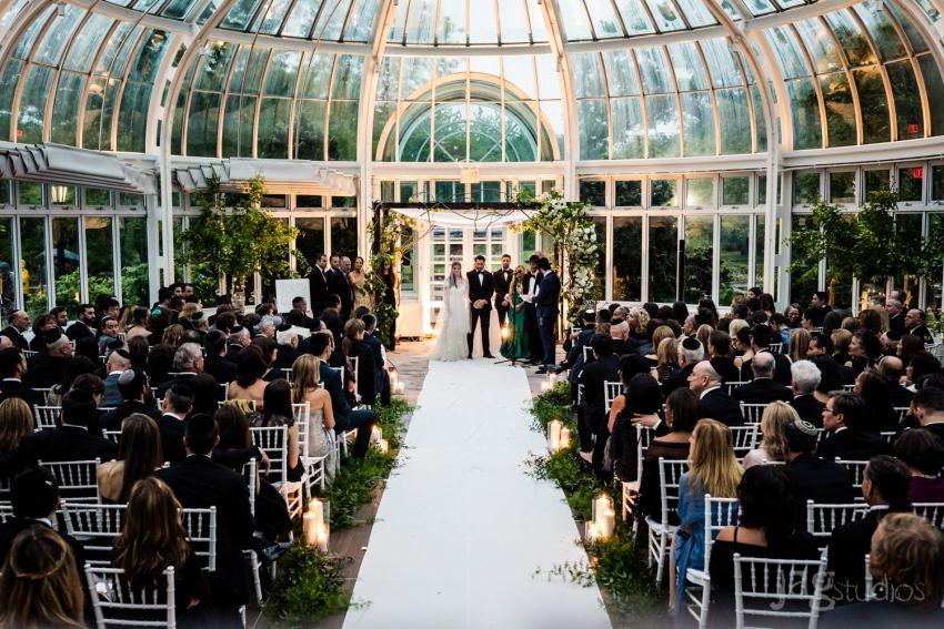 Brooklyn Botanical Garden Wedding JAGstudios