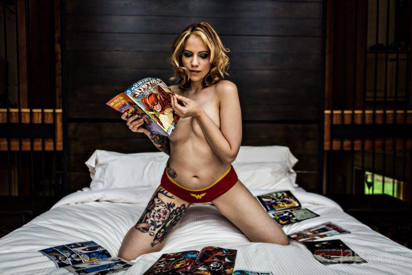 Comic Book Risqué Photography JAGstudios