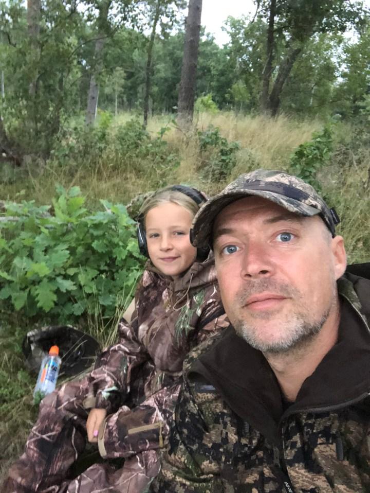 jagt med børn