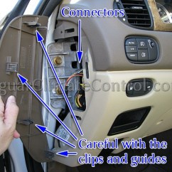 Jaguar S Type Radio Wiring Diagram 4 Pin Trailer Connector Diy: Diagnose It Yourself - Jaguarclimatecontrol.com