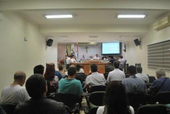 Plenário em sessão ordinária