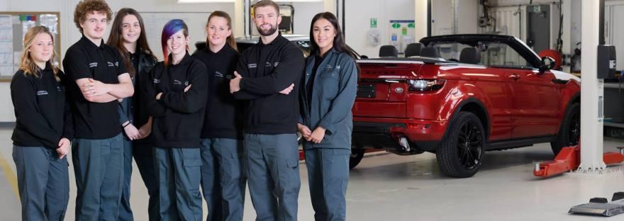 Jaguar Land Rover Whitley Jaguar Land Rover Careers