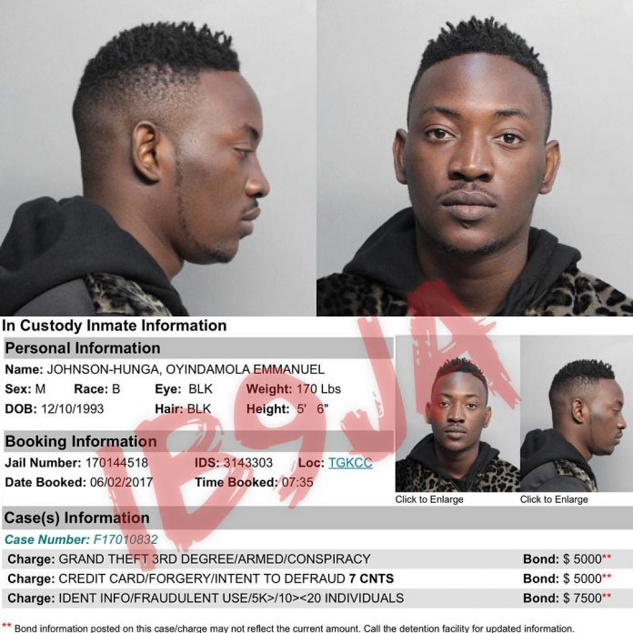 dammy jkrane arrested