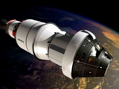 Orion - Artist's Conception - credit: NASA