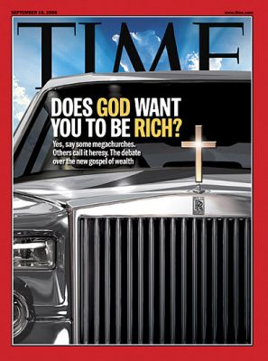 Prosperity Gospel Time