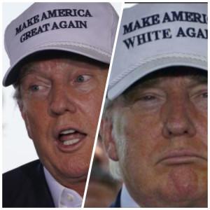 Donald Trump Make America White