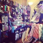 Well stocked shelves at A Twist of Yarn