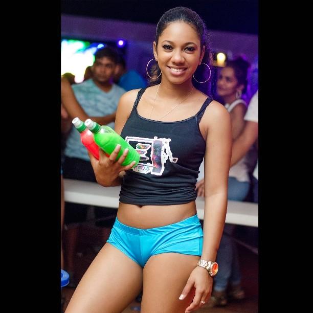 sexy trinidad girl short shorts