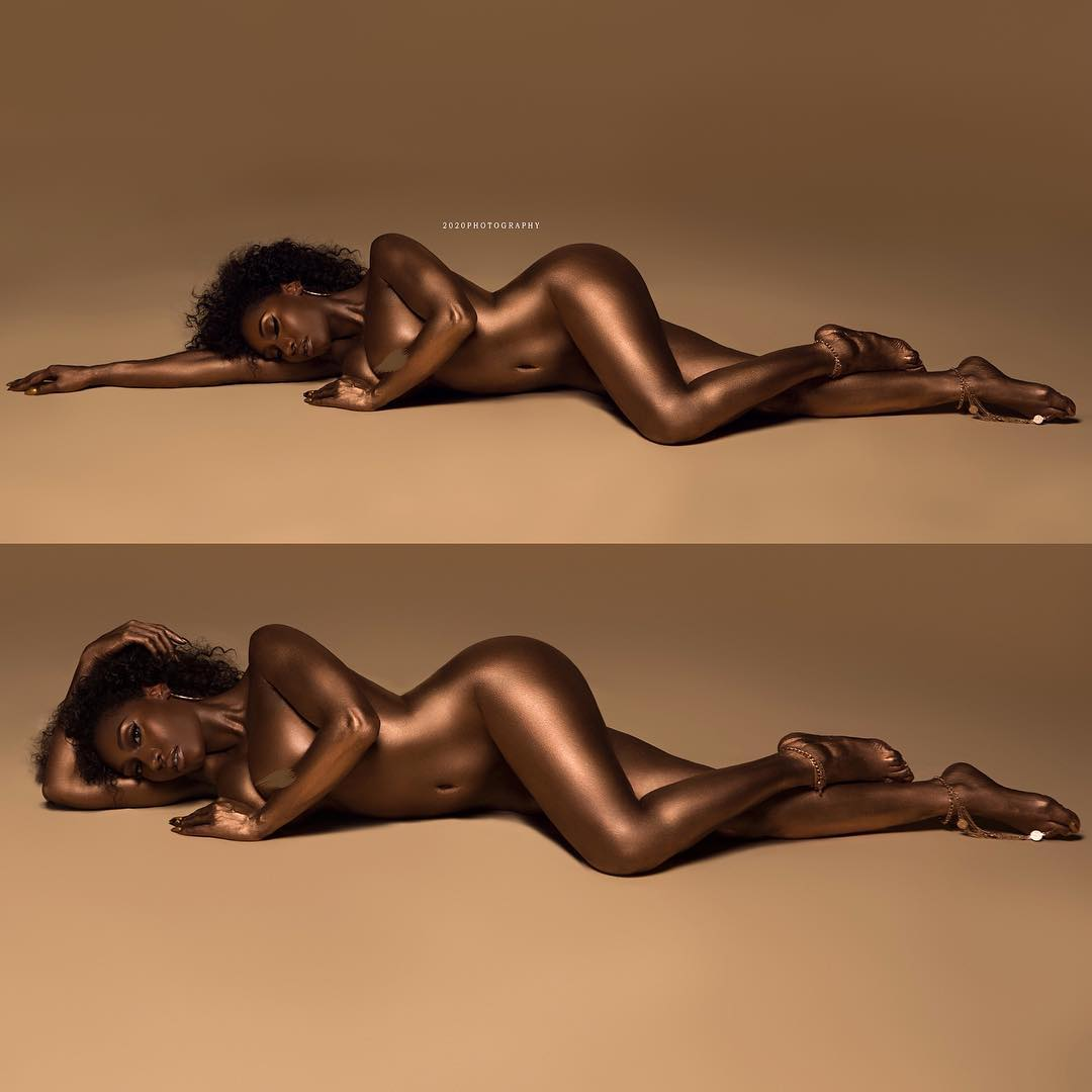 leigh-forbes-nude-body-paint