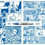 sharpie-one-story-two-points-feutre-bleu