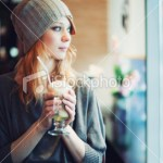 stock-photo-21532884-trendy-girl-in-a-cafe