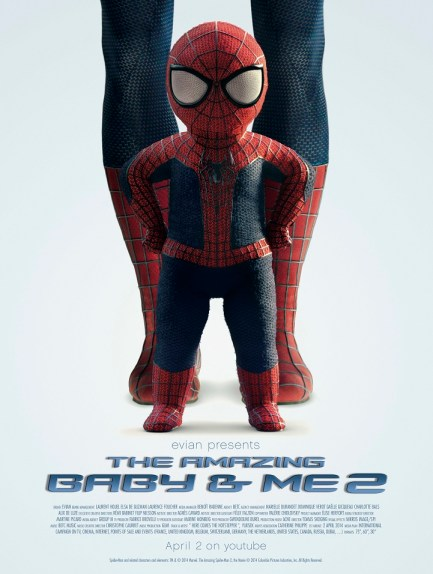 poster-evian-spiderman