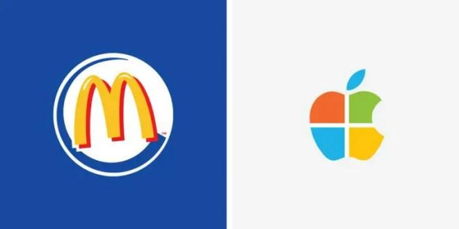 Quand les plus grandes marques fusionnent leur logo