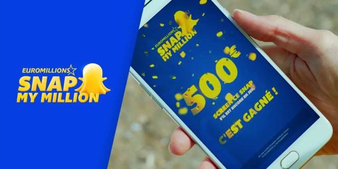 SnapMyMilllion : la première chasse au trésor sur SnapChat !