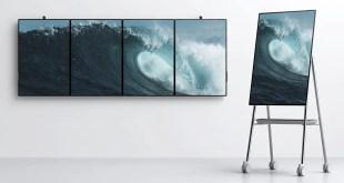 Microsoft présente le nouveau Surface Hub 2 et transforme l'espace de travail