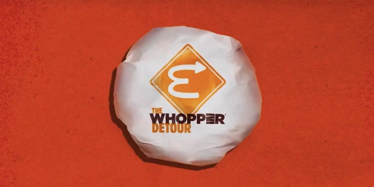 Commandez un Whopper à 1 centime … chez McDonald's