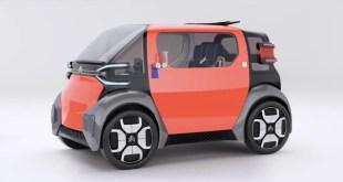 Citroën traverse l'Histoire et lance l'AmiOne Concept : la voiture citadine 100% électrique