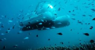 Découvrez la Grande barrière de corail grâce à un Uber sous-marin !