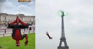 Snapchat dévoile une lense hallucinante pour la sortie de Spider-Man